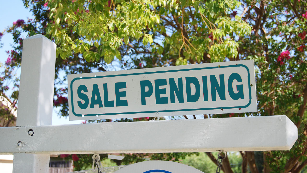 When pending home sales go bad