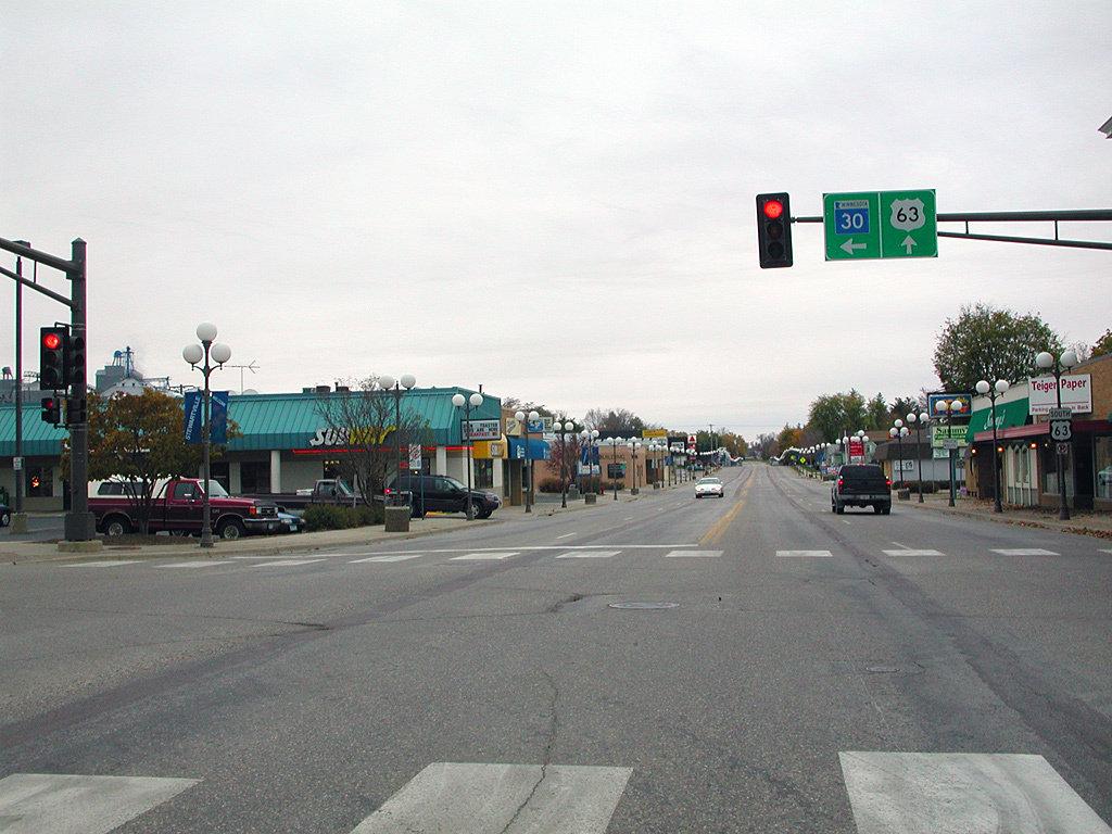 Stewartville MN downtown - real estate