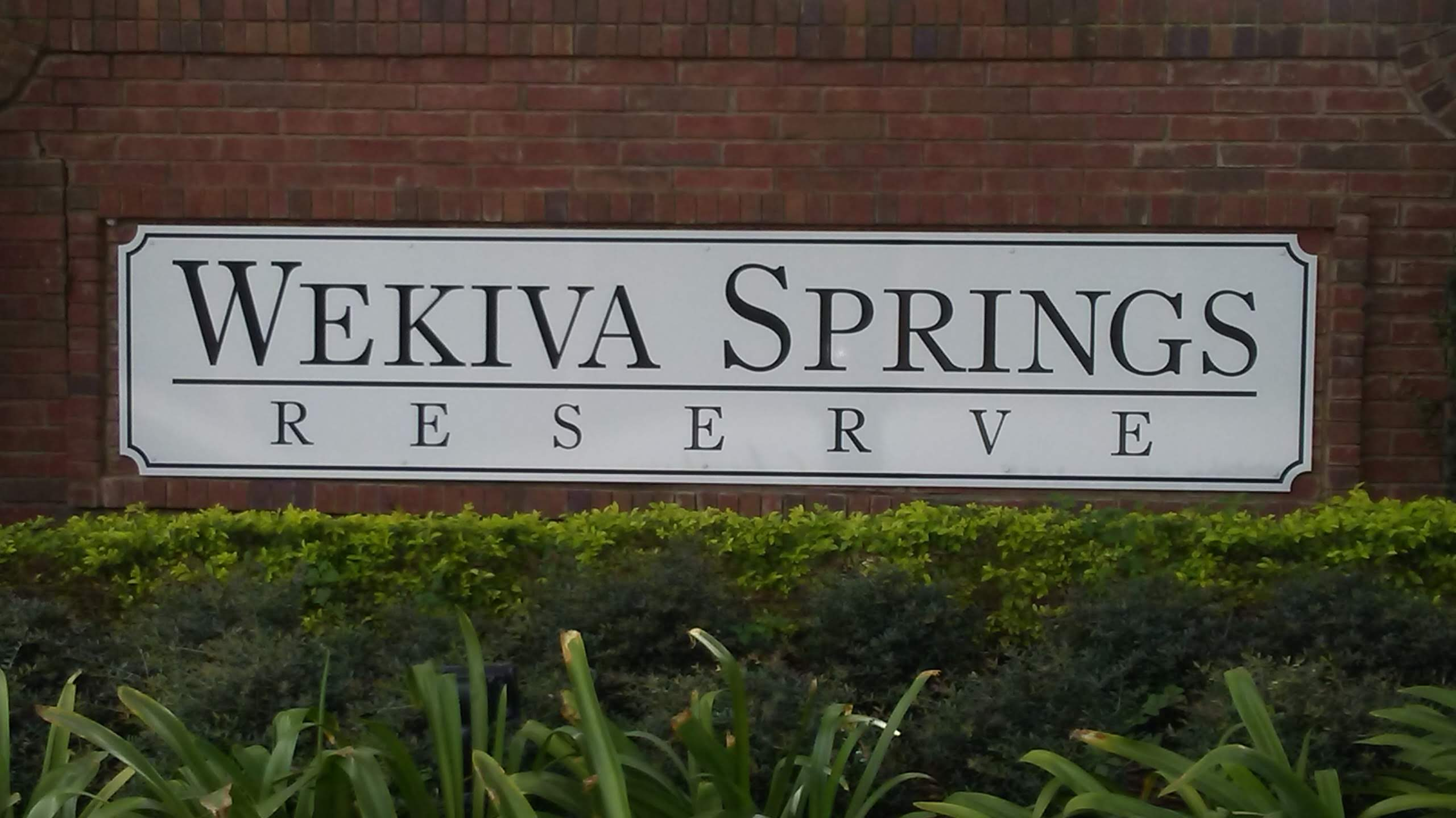 Wekiva Springs Reserve, Apopka, FL  32712