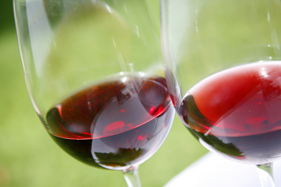 Sample wine on Medford real estate.