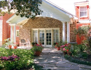 Proper landscaping contributes to curb appeal, a buyers first impression