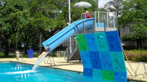Colonial Park Pool has been re-designed for water-play