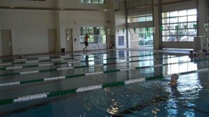 State-of-the-art lap pool in West University