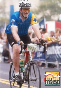 Roger Martin has completed (again!) the MS 150 Bike Ride