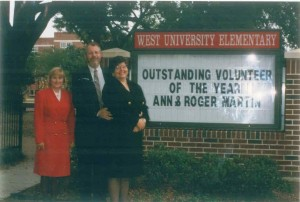 Roger Martin - Volunteer of the Year