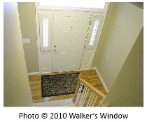 Real Estate Photos - Avoiding Converging Verticals - Front Hall - Cropped