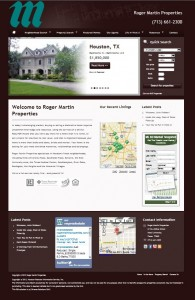 New Website at Roger Martin Properties