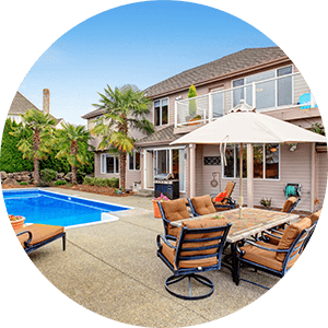 Homes with Pool for Sale
