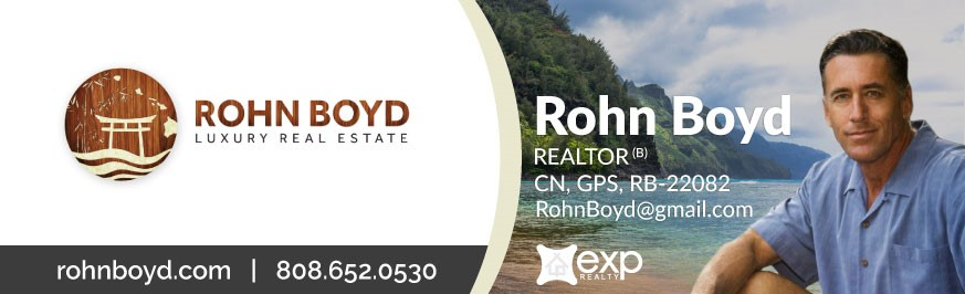 Rohn Boyd Luxury Real Estate Kauai