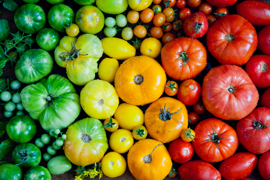 Get Heirloom tomatoes at Farmers Markets in King County