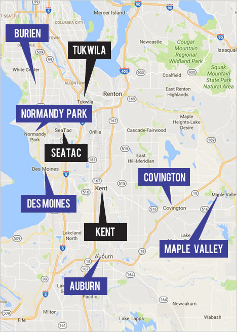 Explore Central Map Real Estate