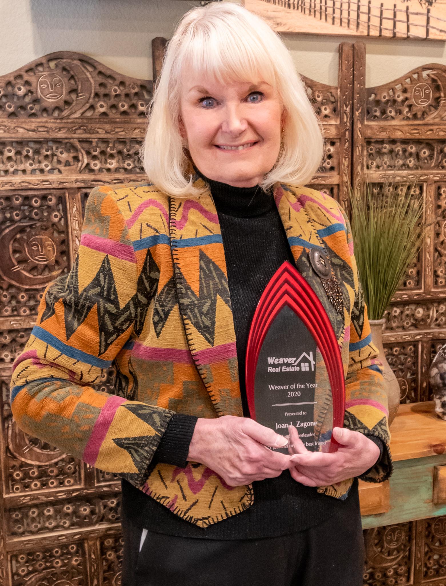 Joan Zagone Weaver of the Year 2020
