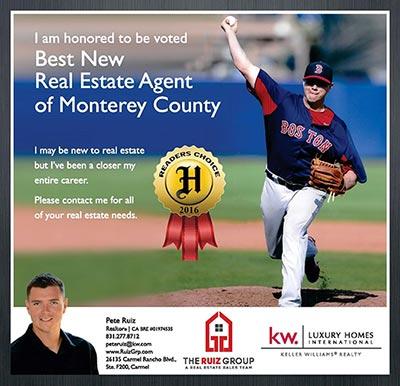 best new agent - monterey county