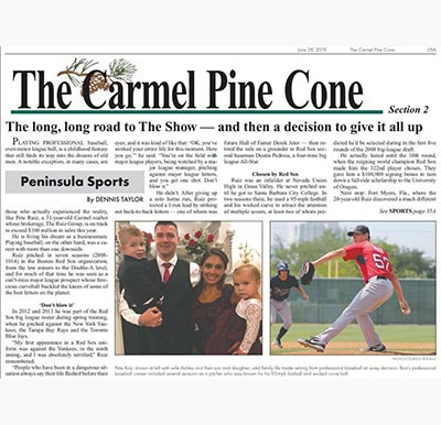 the carmel pine cone