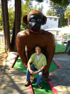 Monkeying around On The Russian River