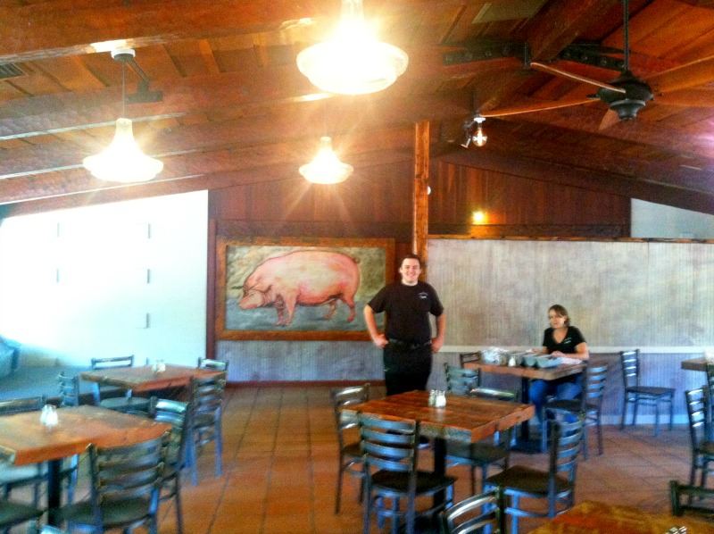 Juicy Pig Dining Hall Guerneville Ca