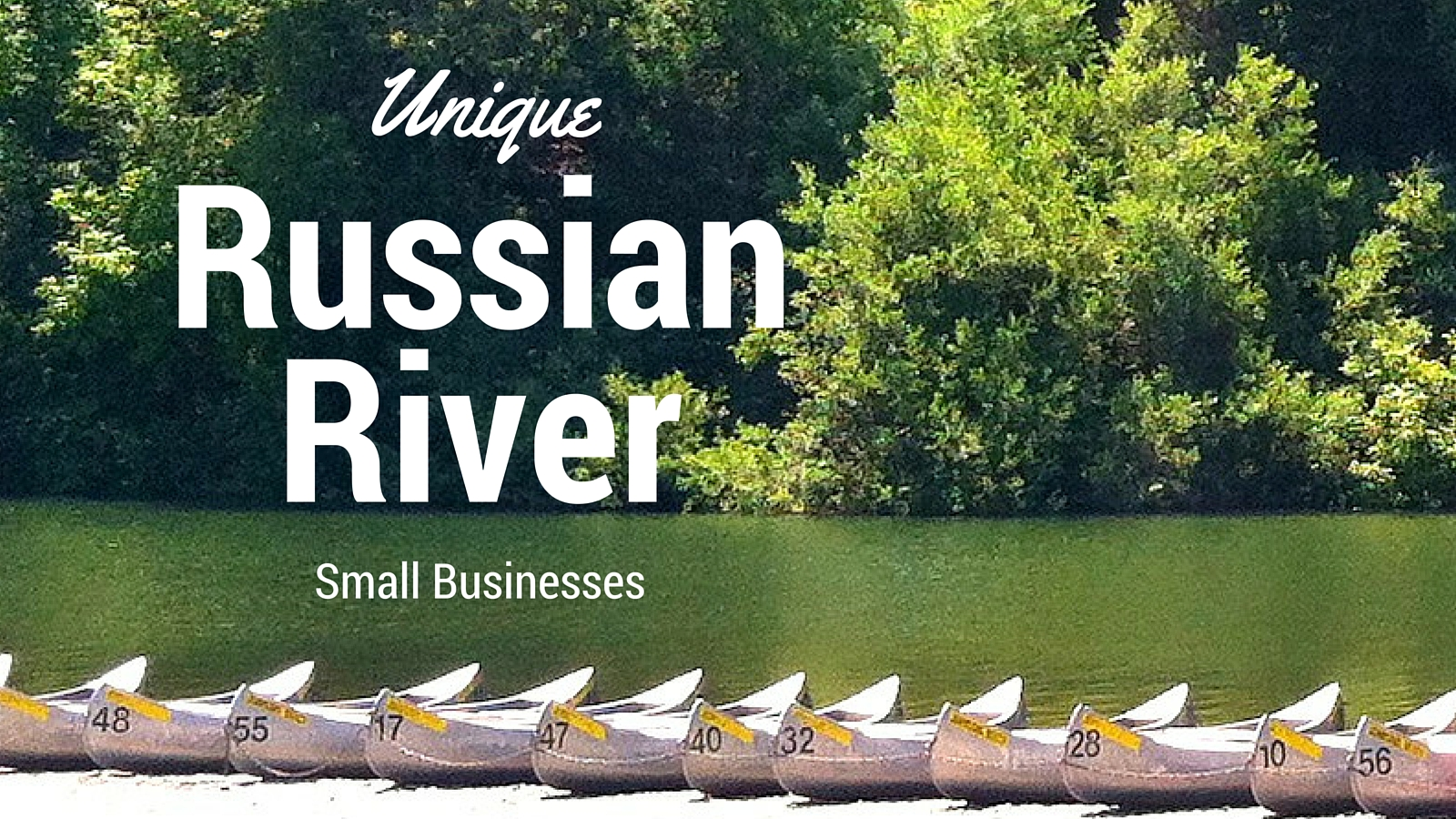 Unique russian river small businesses