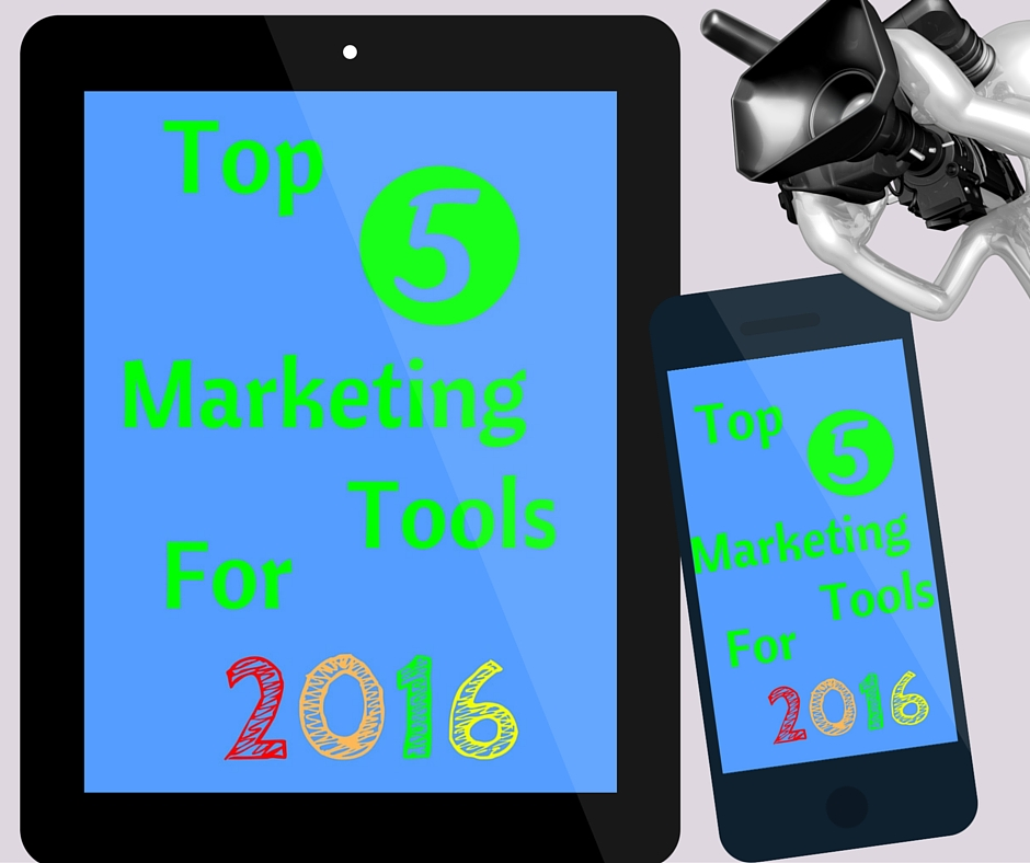 Top 5 real estate marketing tools for 2016