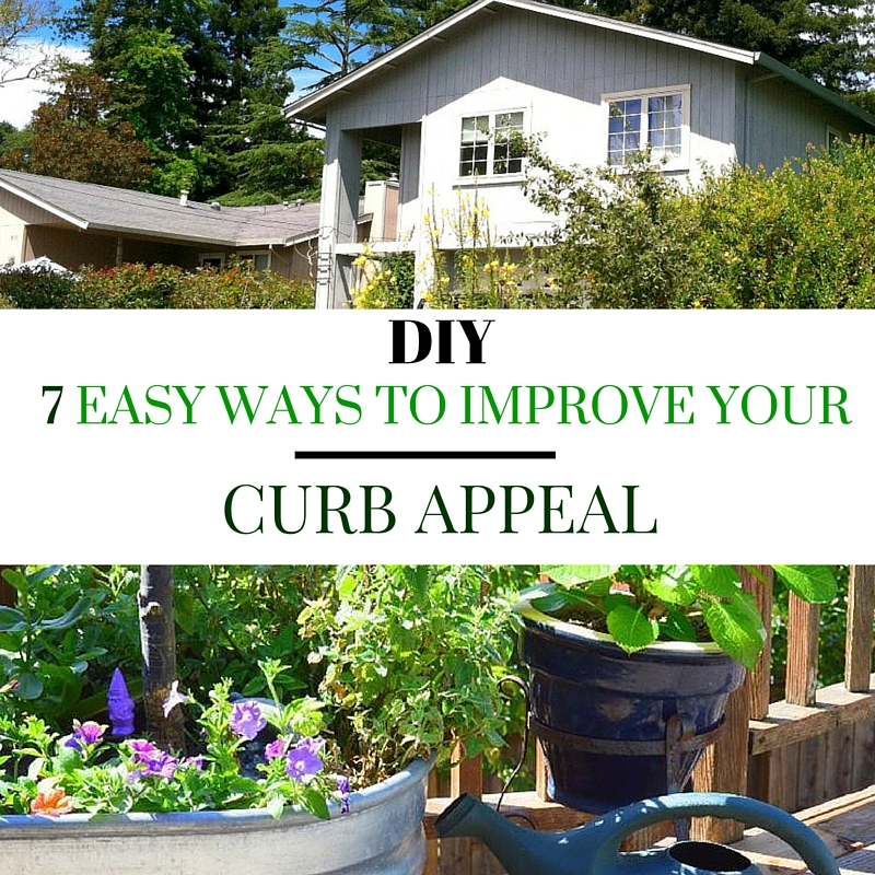 DIY 7 Easy Ways To Improve Your Curb Appeal