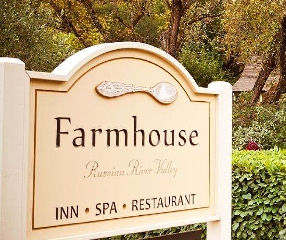 Farmhouse Inn Restaurant in Forestville