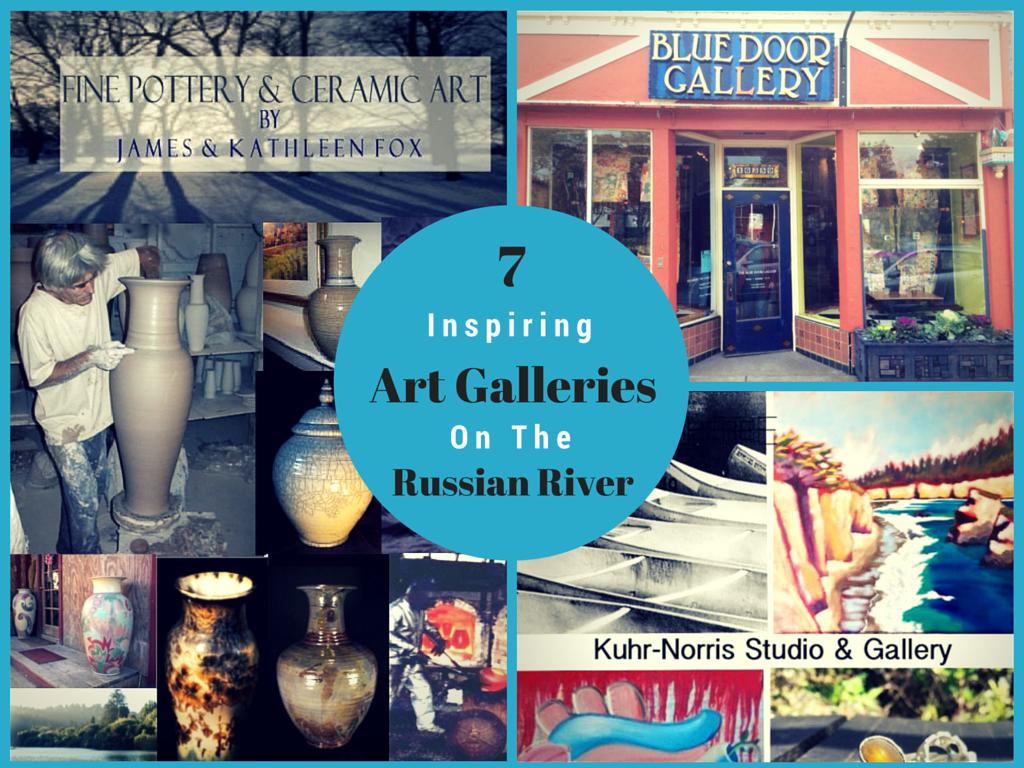 Inspiring art galleries on the russian river