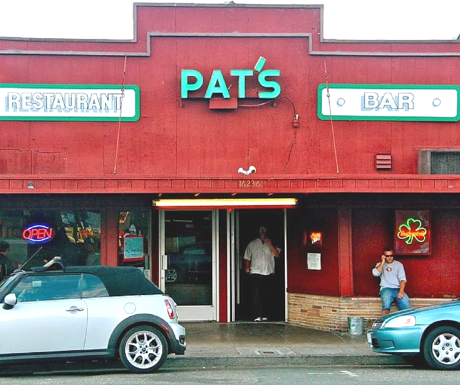 Pat's and Blomster's restaurants in guerneville ca