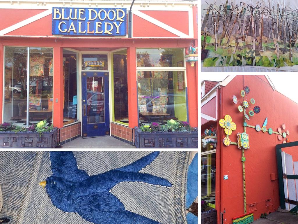 Blue Door Gallery In Guerneville CA