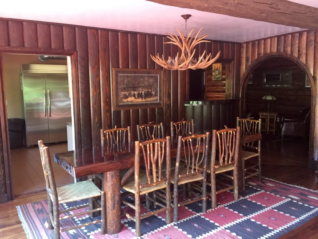 Dining Hall At Guerneville Lodge