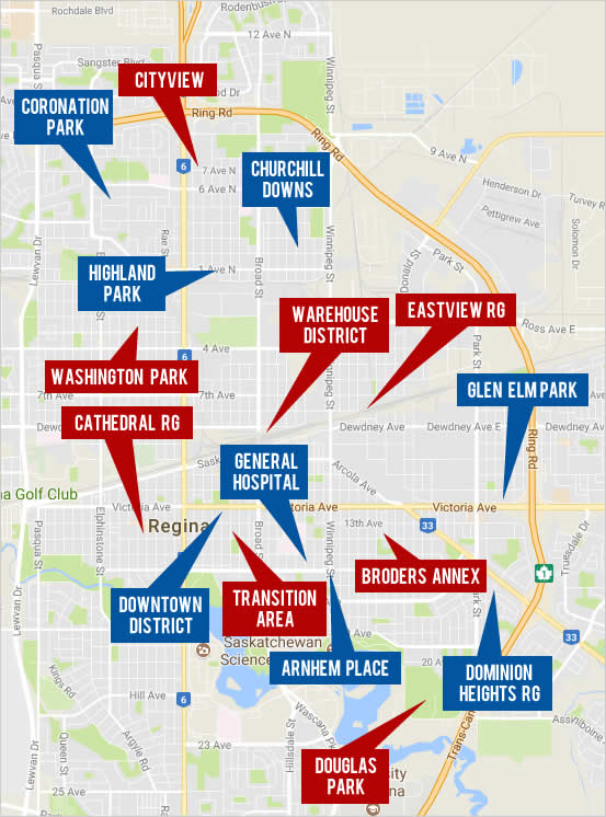 Explore Central Regina Real Estate