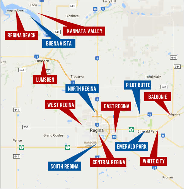 Regina Real Estate and Surrounding Area