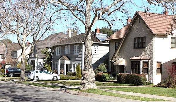 Homes in Curtis Park Sacramento