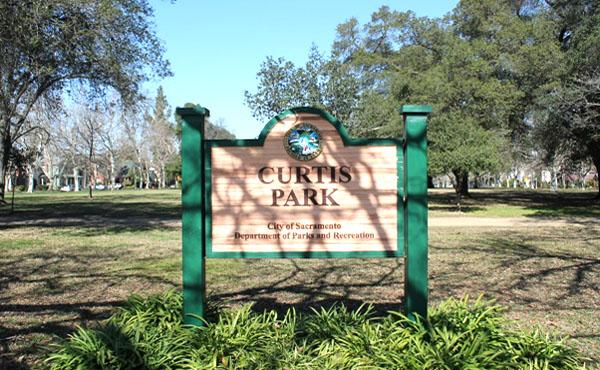 Curtis Park Sacramento Entrance