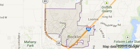 Rocklin CA Real Estate Map Search
