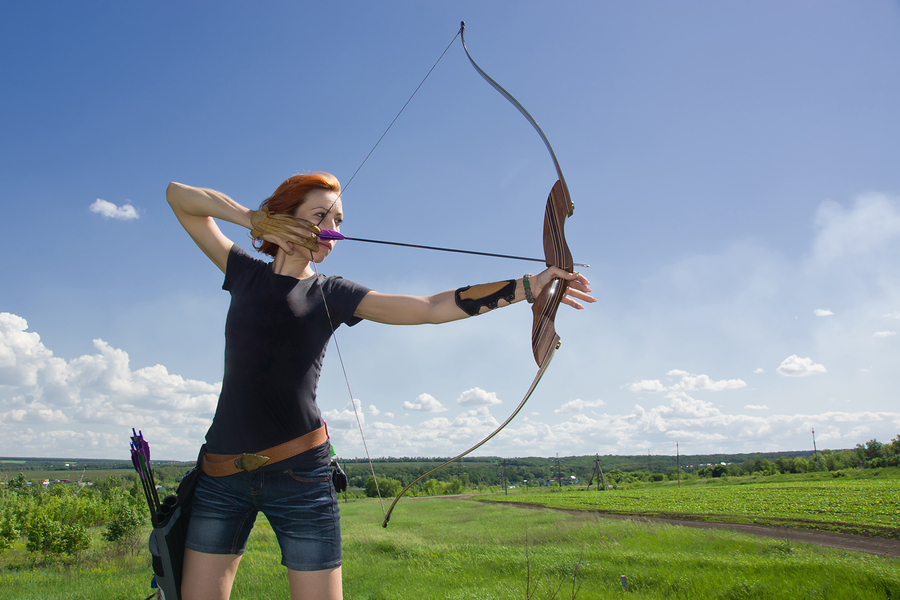 Rocklin home owners learn archery.