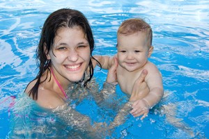 Swimming Fun Near Fair Oaks Homes