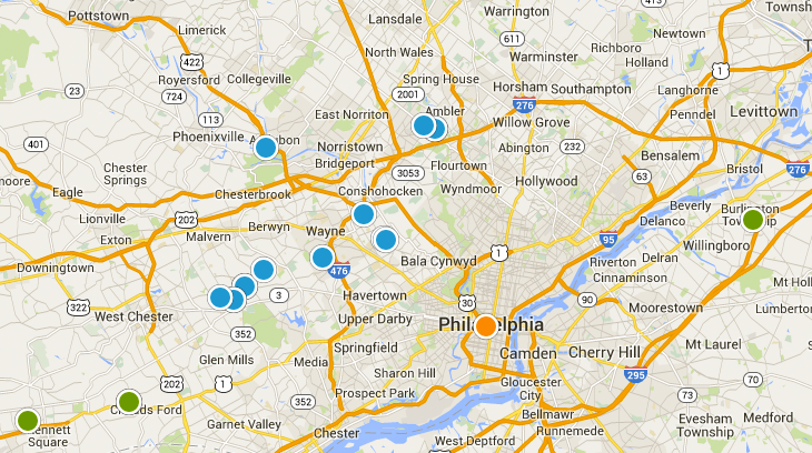 Search Philadelphia Properties By Interactive Map