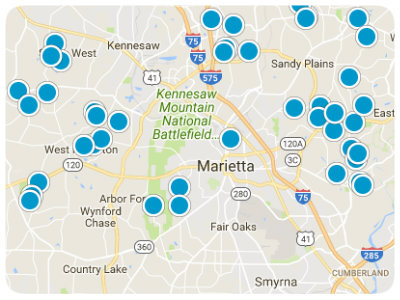 Georgia Real Estate Map Search