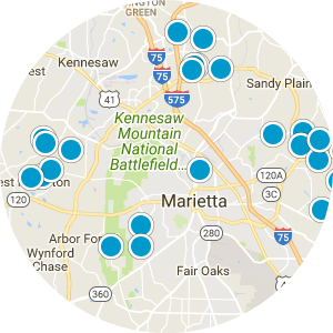 Marietta Real Estate Map Search