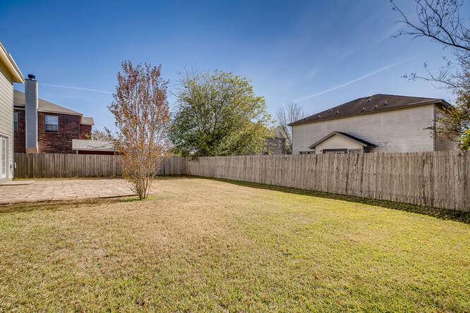 Large Backyard in Boerne