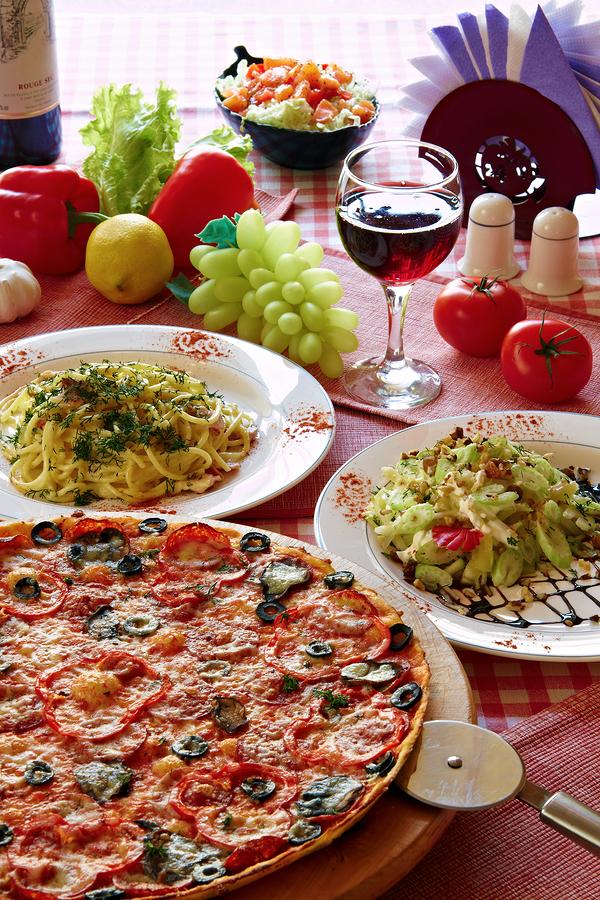 Eat Italian near Wortham Oaks homes.