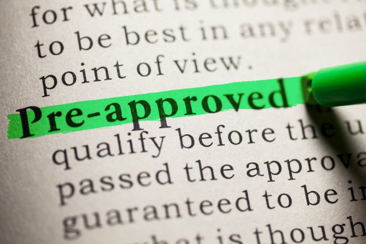Start by getting pre approved for a mortgage