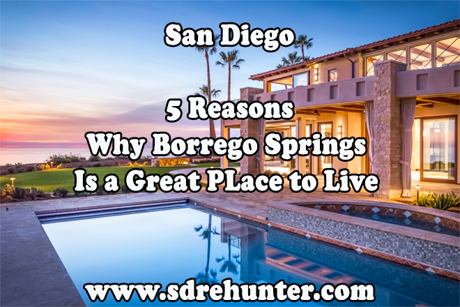 5 Reasons Borrego Springs San Diego is a Great Place 2020