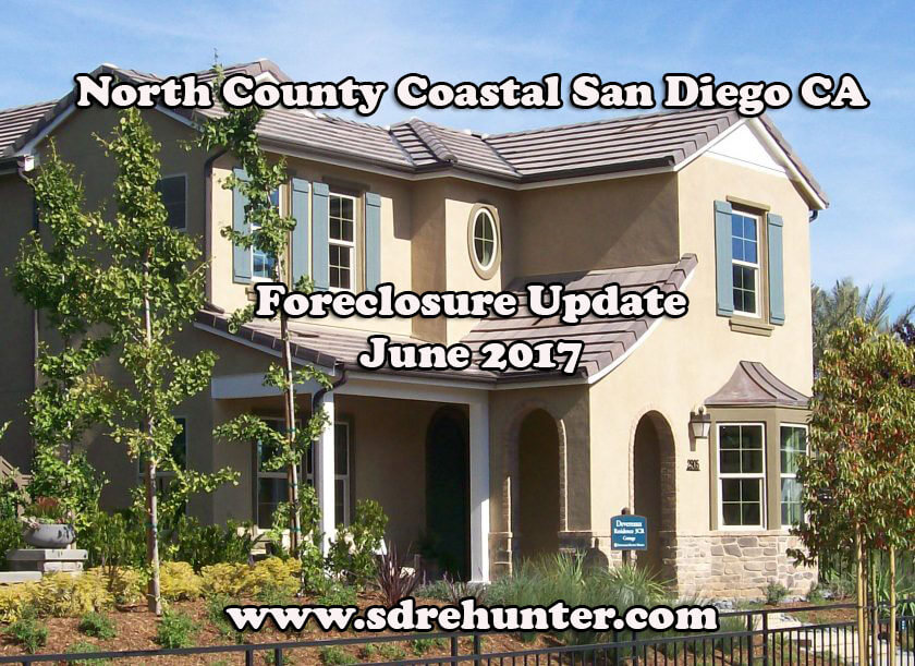 north county coastal san diego ca foreclosure update june 2017