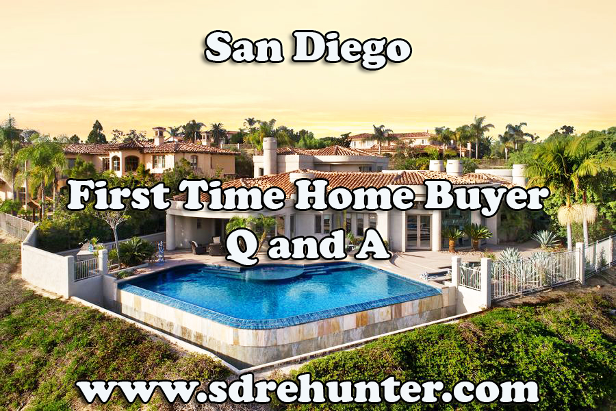 First Time Home Buyer San Diego Q and A (2018 Update)