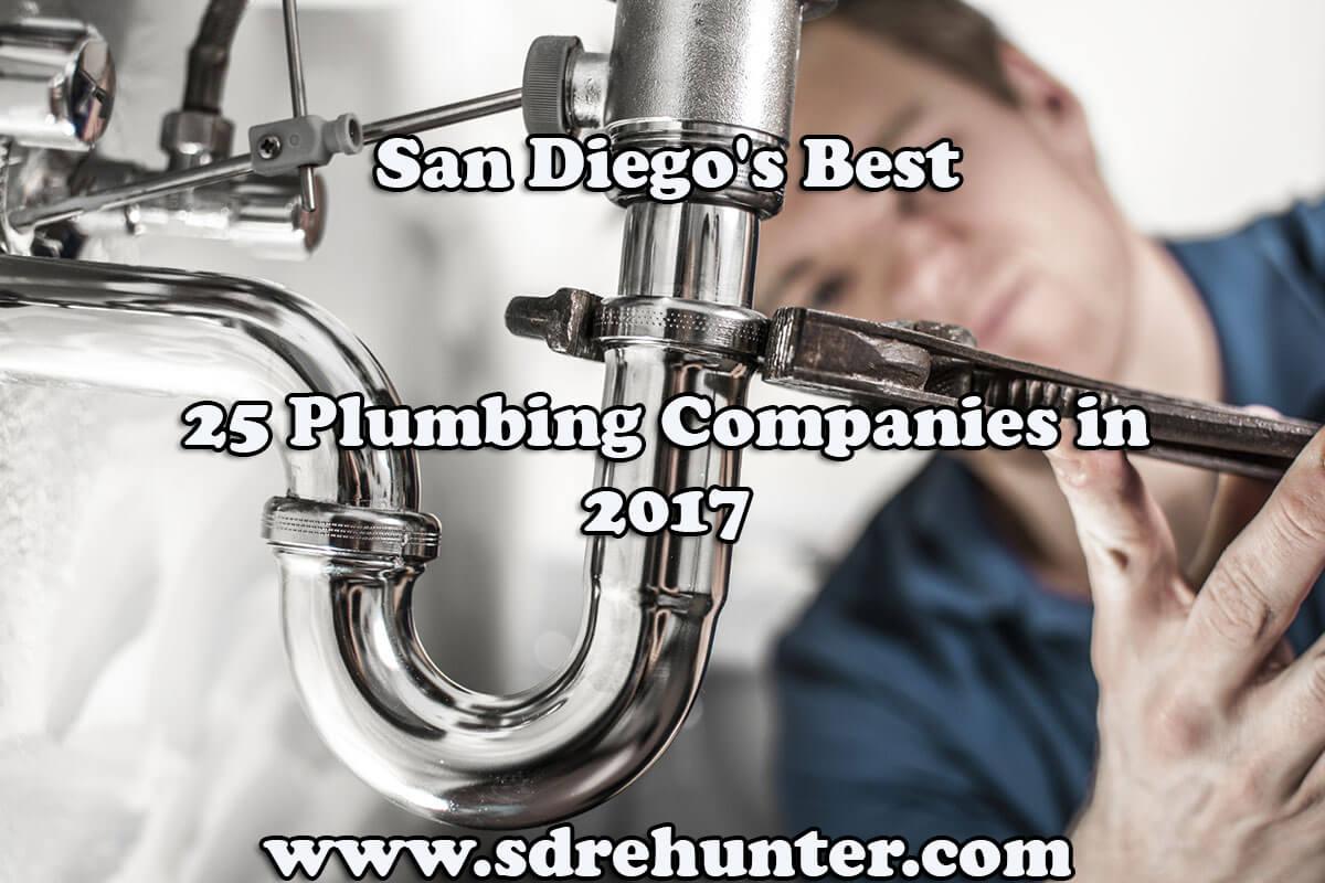 San Diego\'s Best 25 Plumbing Companies in 2017