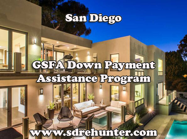 San Diego GSFA Down Payment Assistance Program (2017 Update)