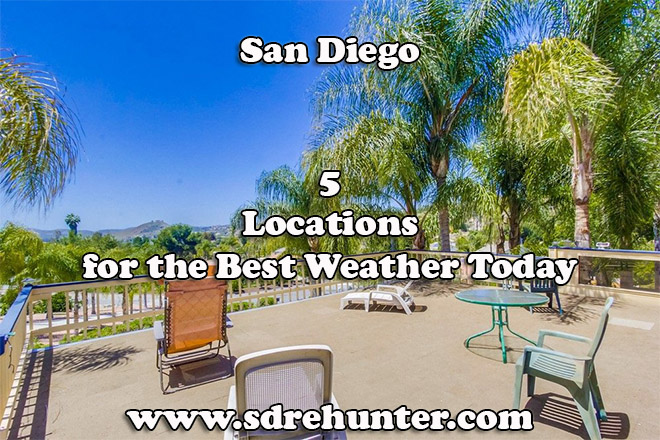 5 Locations for the Best San Diego Weather Today 2019 | 2020
