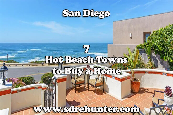 7 Hot San Diego Beach Towns to Buy a Home in