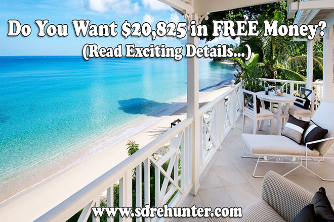 Do You Want $20,825 in FREE Money? (Read Exciting Details...)