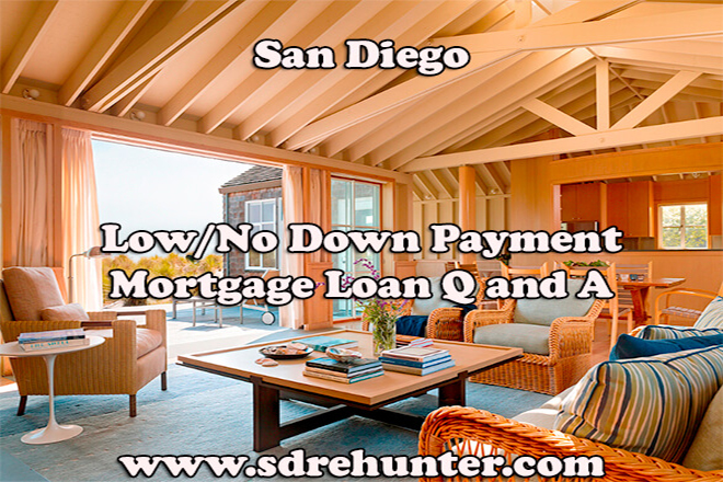Low/No Down Payment San Diego Mortgage Loan Q and A (2019 | 2020 Update)